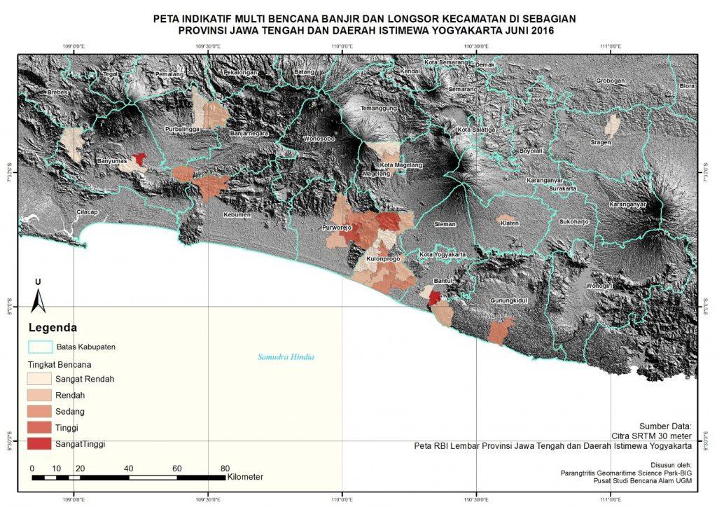 Peta Indikatif Multi Bencana Banjir dan Longsor