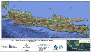 Peta Jalur Mudik Berbasis Kerawanan Bencana Banjir dan Longsor [feature2]
