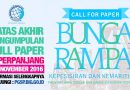 Call For Paper Bunga Rampai