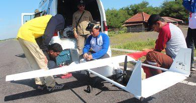 pemetaan dengan menggunakan UAV di area kecamatan Kretek