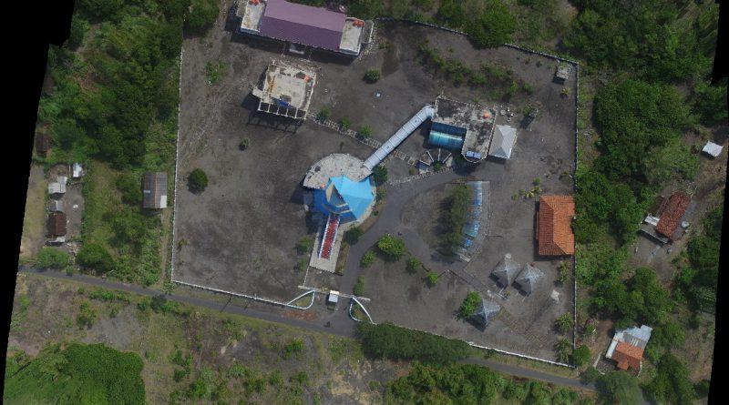 Gambar 1. Foto Udara Parangtritis Geomaritime Science Park