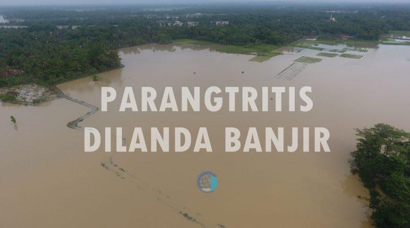 Genangan Air Masih Menggenangi Parangtritis dan Sekitarnya