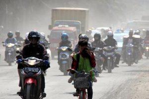 Gambar 1. Polusi Udara di Wilayah Kota Sumber: Koran Sindo (2017)