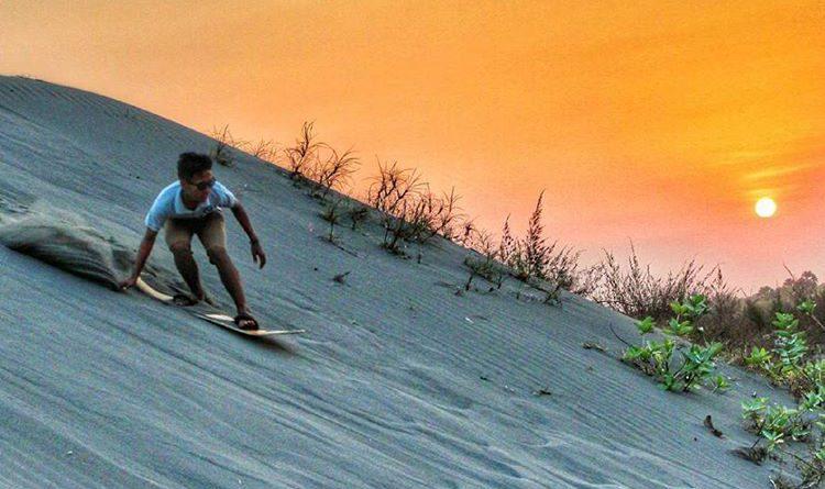 gumuk pasir parangtritis sebagai wahana wisata dan edukasi