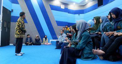 PGSP Menerima Kunjungan dari Universitas Lampung dalam pembelajaran Geosfer