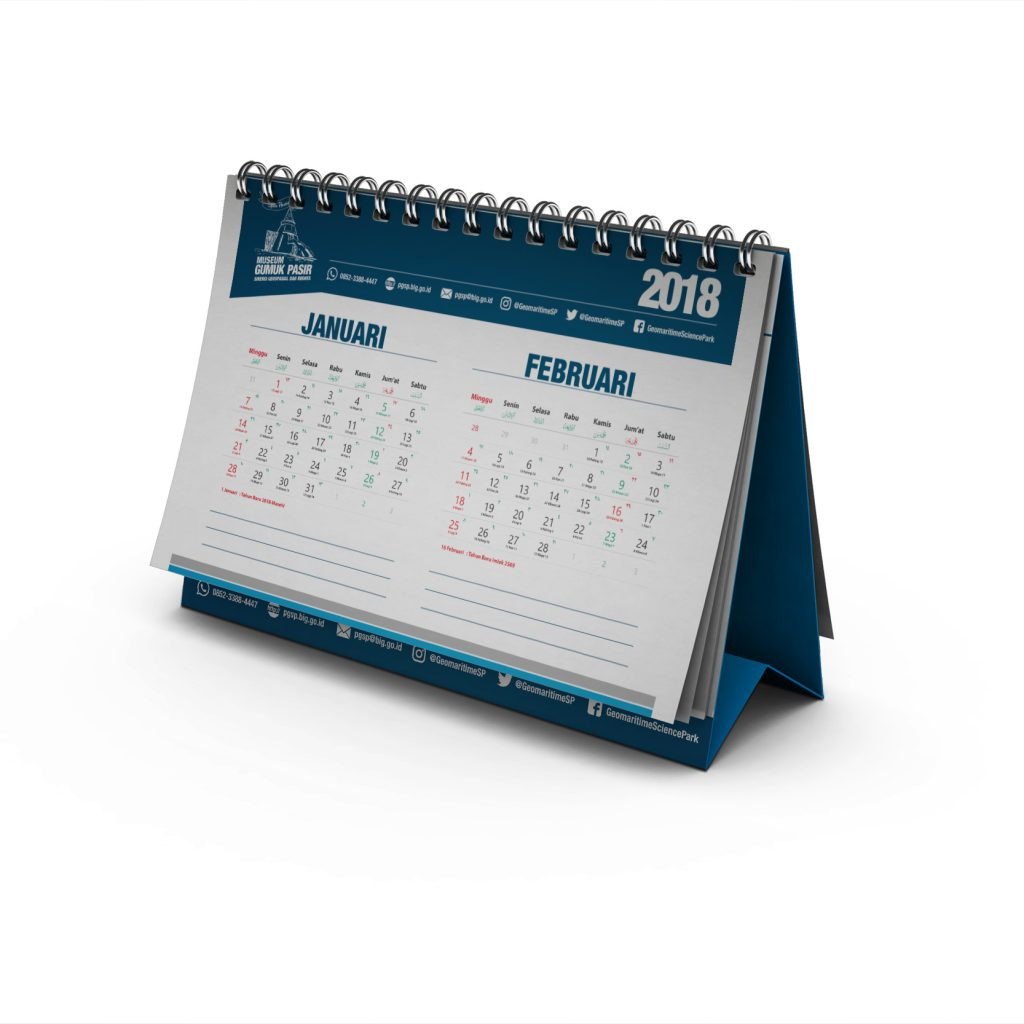 Kalender PGSP Tahun 2018