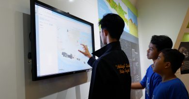 MTs Daarul Ulum Outing Class di Museum Gumuk Pasir