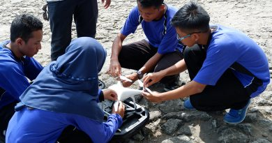 SMA N 1 Karanganyar Kebumen Mencoba Menyusun Drone