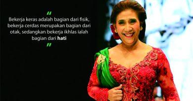 Susi Pudjiastuti Sang Ratu Laut Indonesia