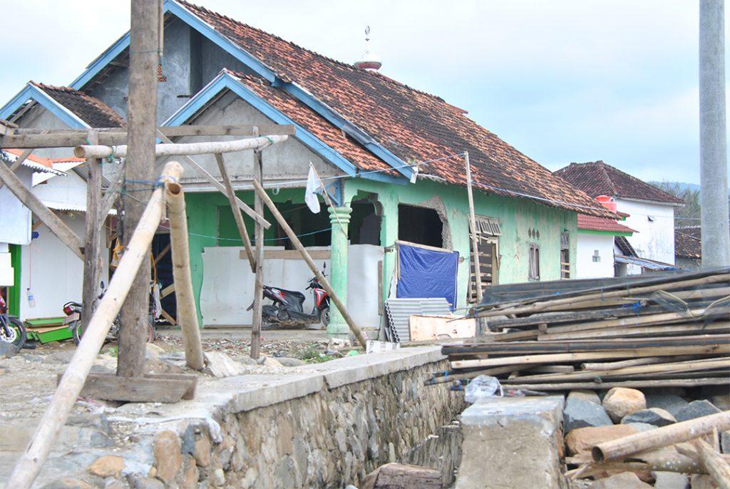 Tsunami Banten terjadi di malam hari