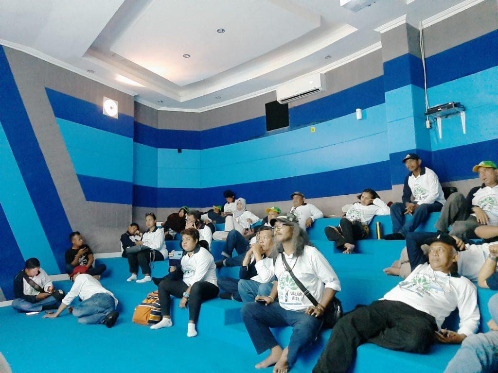 Asosiasi Komunitas Sungai Indonesia antusias belajar kepesisiran