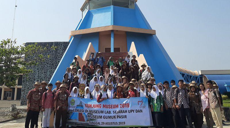 Dinas Kebudayaan Bantul Fasilitasi Siswa SMP Roundtrip Museum