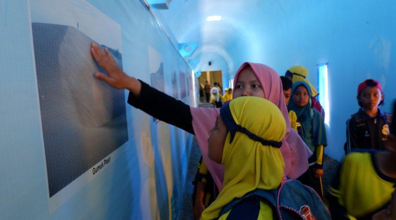 Kunjungan MI Nurul Ummah Kotagede ke Museum Gumuk Pasir