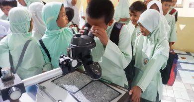 MI Husnayain Berkunjung ke Museum Gumuk Pasir