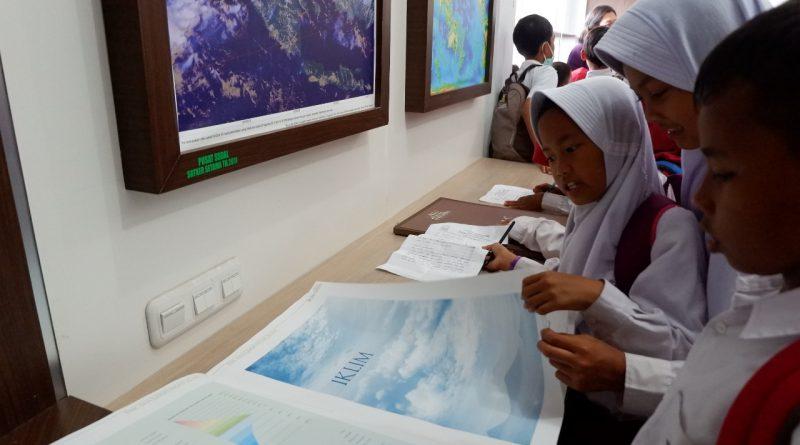 SD N Nglengking Belajar Kepesisiran di Museum Gumuk Pasir