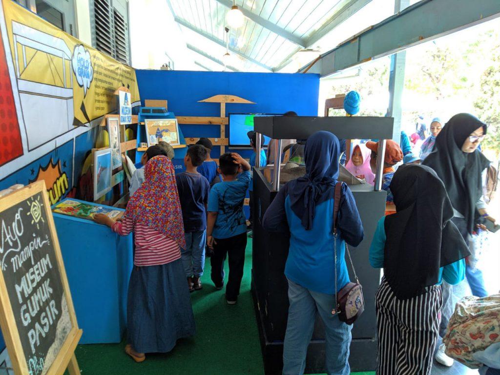 Museum Gumuk Pasir memberikan souvenir gratis