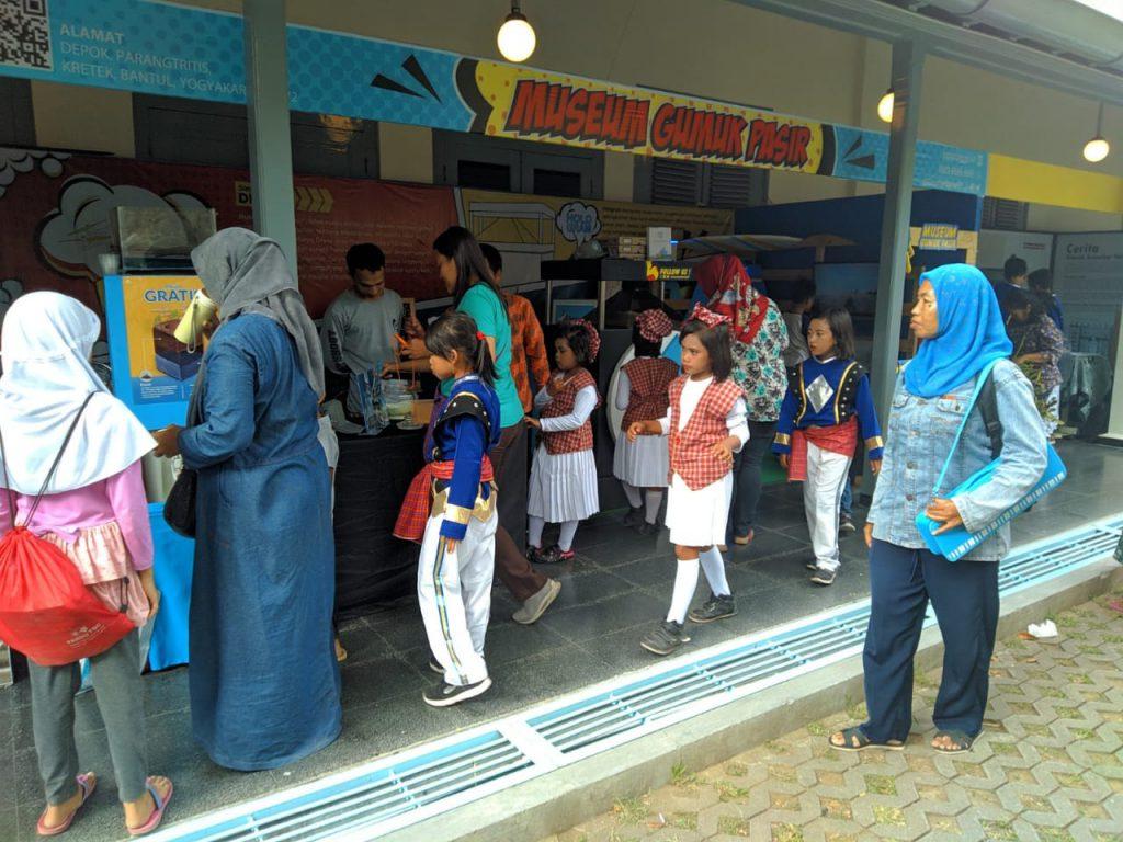 Museum Gumuk Pasir membawa beberapa koleksi museum