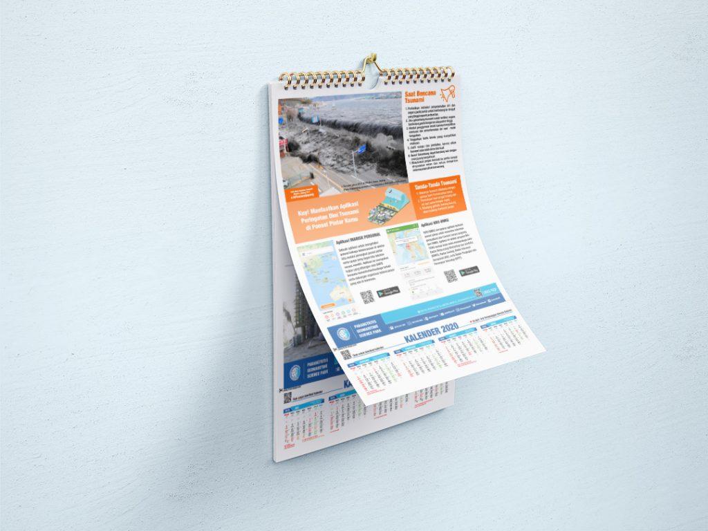 Kalender Dinding PGSP 2020