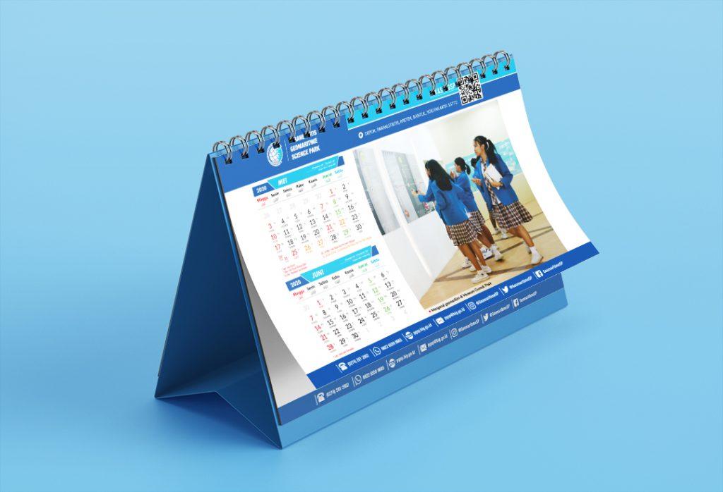 Kalender Meja PGSP 2020