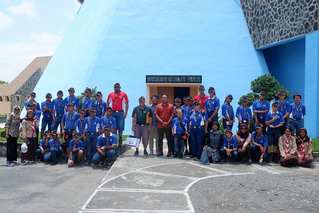 Scouts of New Caledonia berkunjung dalam rangka pramuka