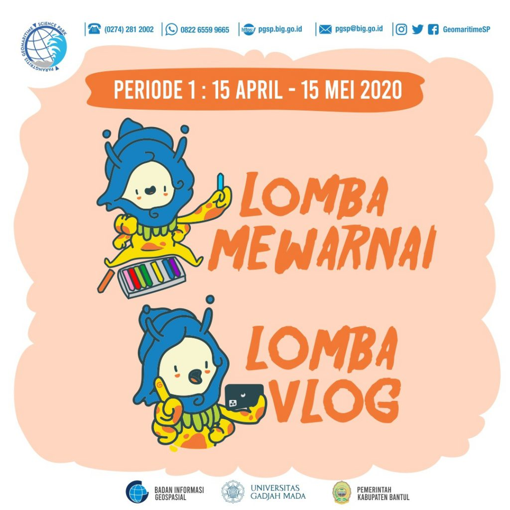 Poster Lomba PGSP Online Event Selama Pandemik Corona