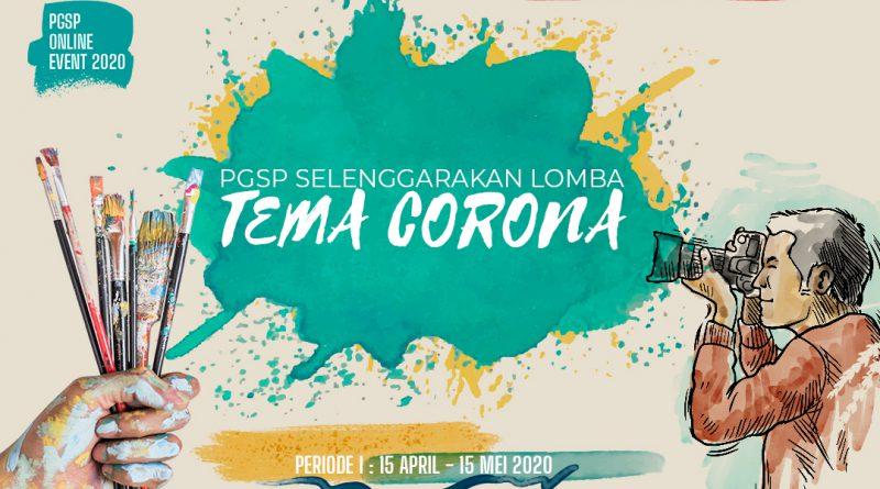 Lomba Mewarnai dan Lomba Vlog PGSP Melawan Corona