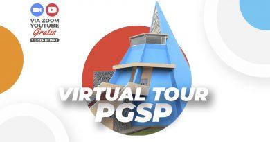 Virtual Tour yang diselenggarakan PGSP dalam rangka lebih dekat dengan pengunjung