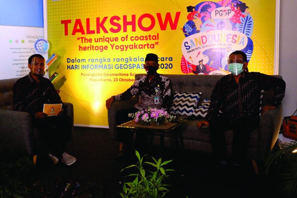 Talkshow dengan harapan untuk lebih melestarikan gumuk pasir parangtritis